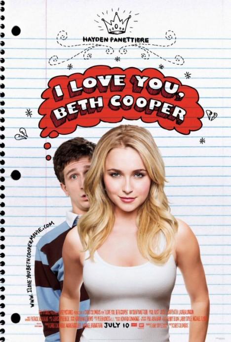 Обичам те Бет Купър